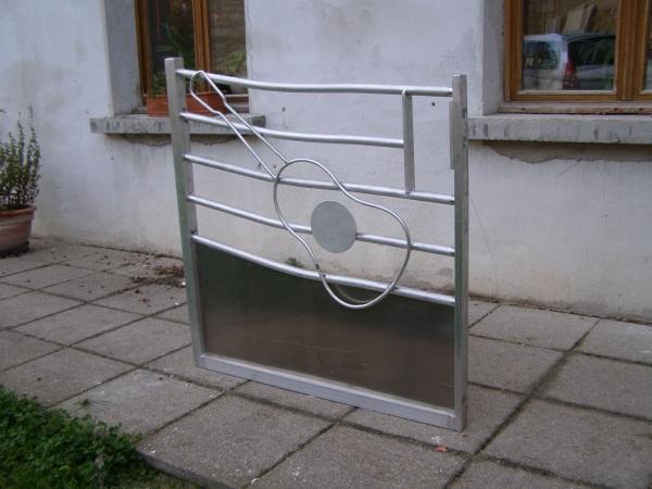 Portails et portillons for Portail jardin aluminium
